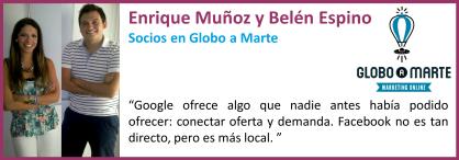 Enrique Muñoz y Belén Espino_ Globo a Marte