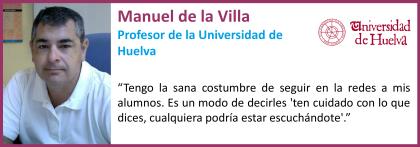 Manuel de la Villa_Universidad de Huelva