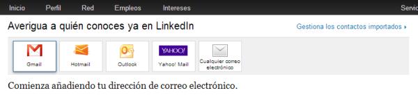 Añadir Contacos Linkedin